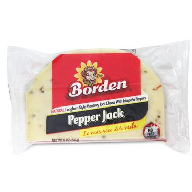 BORDEN PEPPER JACK HALF MOON