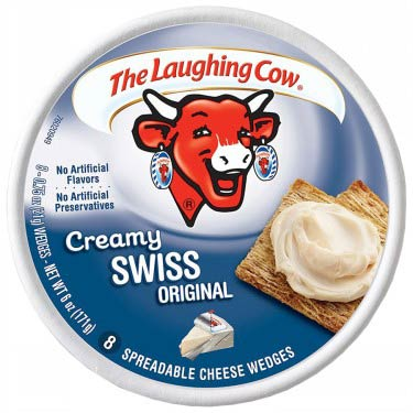 THE LAUGHING COW CREAMY SWISS