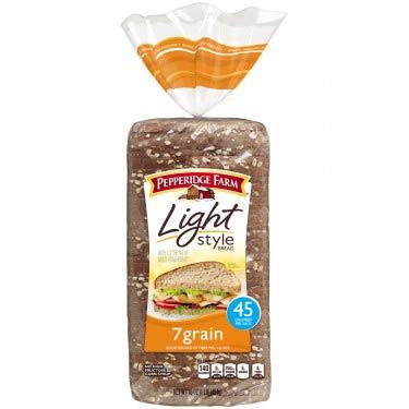 PEPPERIDGE FARM LIGHT STYLE 7GRAIN BREAD