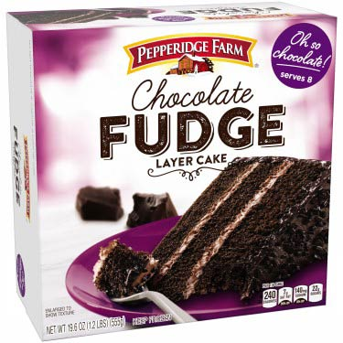 PEPPERIDGE FARM CHOC FUDGE LAYER CAKE