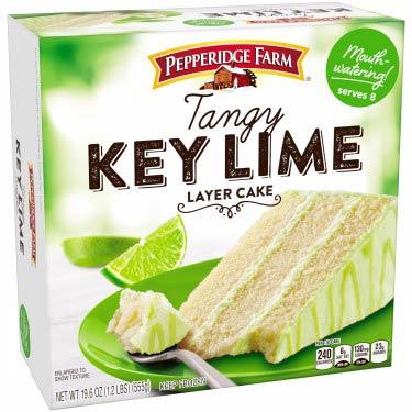 PEPPERIDGE FARM KEY LIME 3-LAYER CAKE