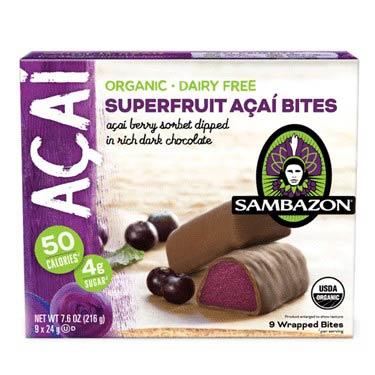 SAMBAZON SUPERFRUIT ACAI BITES