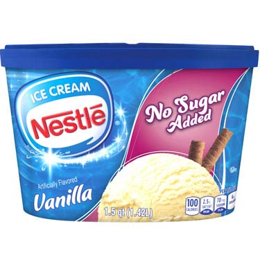 NESTLE NO SUGAR ADDED VANILLA