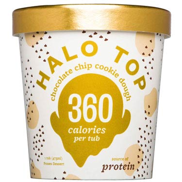 HALO TOP CHOCO CHIP COOKIE DOUGH