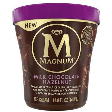 MAGNUM MILK CHOCOLATE HAZELNUT