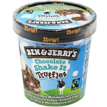 BEN & JERRYS CHOCOLATE SHAKE IT