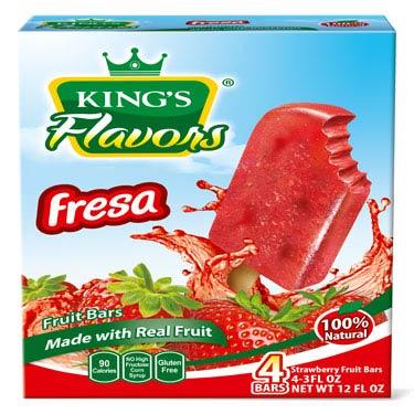 KINGS FLAVORS FRESA