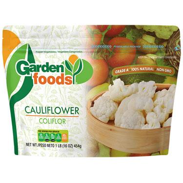 GARDENS FOODS CAULIFLOWERS