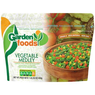 GARDENS FOODS VEGETABLE MEDLEY