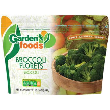GARDENS FOODS BROCOLI FLORETS