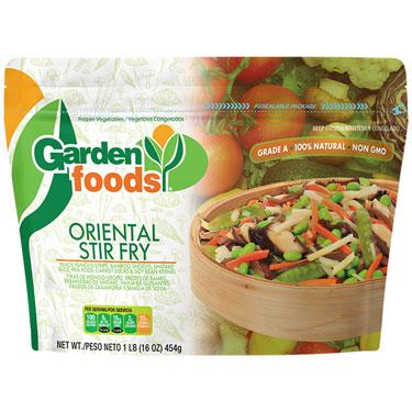 GARDENS FOODS ORIENTAL STIR FRY