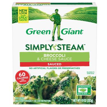 GREEN GIANT BROCOLI  & CHESSE SAUCE