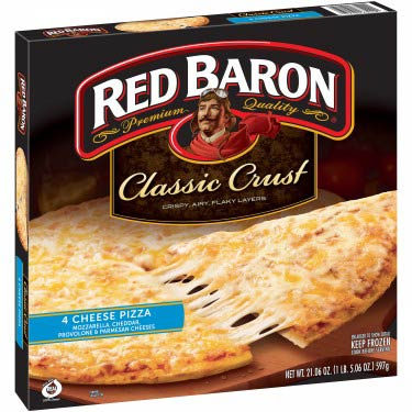 RED BARRON CLASSIC CRUST 4 CHEESE PIZZA