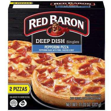 RED BARON DEEP DISH PEPPERONI