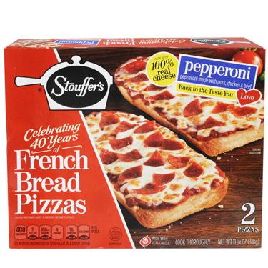 STOUFFERS FRENCH BREAD PEPERRONI PIZZA