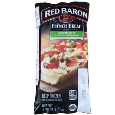 RED BARON FRENCH BREAD SUPREME