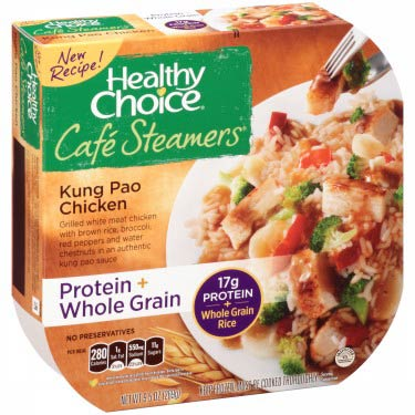 HEALTHY CHOICE KUNG PAO CHICKEN