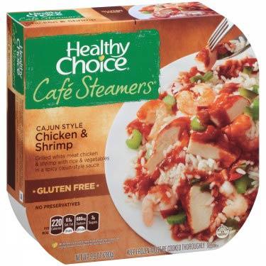 HEALTHY CHOICE CHICKEN & SHRIMP