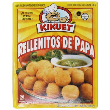 KIKUET RELLENITOS DE PAPA