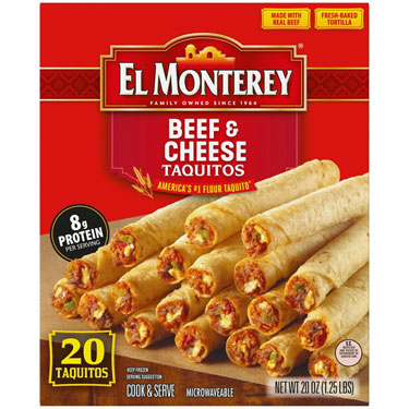 EL MONTEREY TAQUITOS BEEF&CHEESE