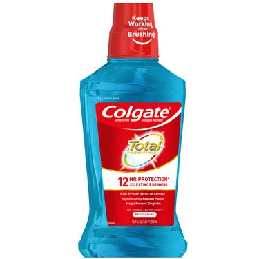 COLGATE TOTAL MOUTHWASH PEPPERMINT