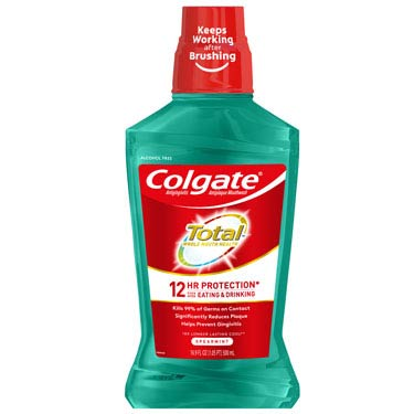 COLGATE TOTAL MOUTHWASH SPEARMINT