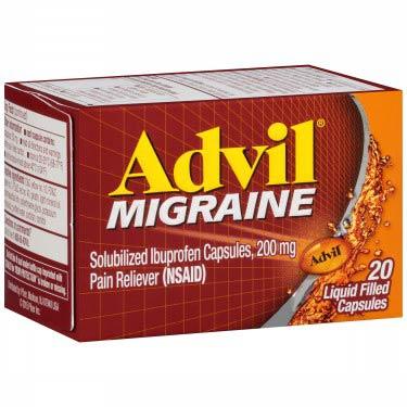ADVIL MIGRAINE CAPSULES