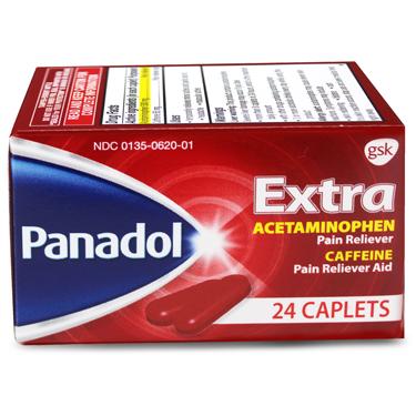 PANADOL EXTRA CAPLETS