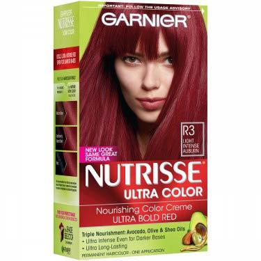 GARNIER NUTRISSE #R3 LIGHT INT.AUBURN