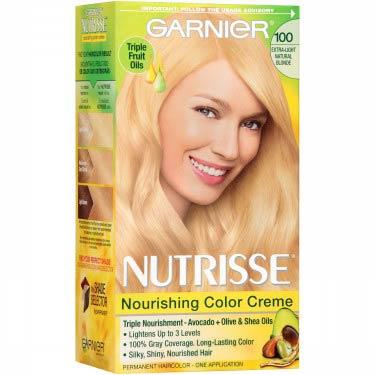GARNIER NUTRISSE #100 NATURAL BLONDE