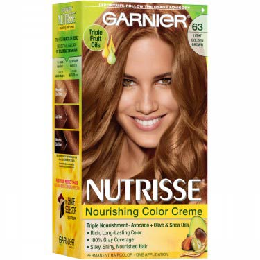 GARNIER NUTRISSE #63 LIGHT GOLDEN BROWN