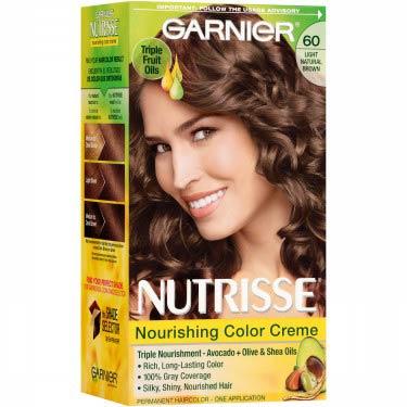 GARNIER NUTRISSE #60 LIGHT NAT BROWN