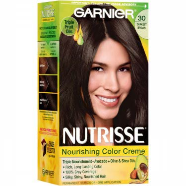 GARNIER NUTRISSE #30 DARKEST BROWN