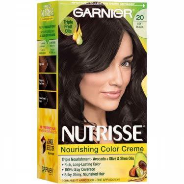GARNIER NUTRISSE #20 SOFT BLACK