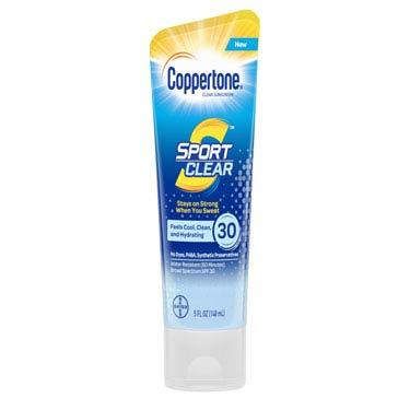 COPPERTONE SPORT CLEAR 30-SPF