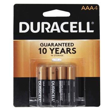 DURACELL AAA-4