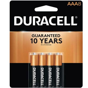 DURACELL AAA-8