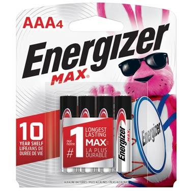 ENERGIZER MAX AAA-4
