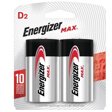 ENERGIZER MAX D-2
