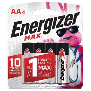 ENERGIZER MAX AA-4