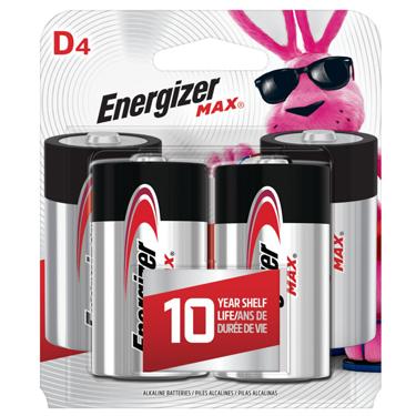 ENERGIZER ALKALINE 4-D