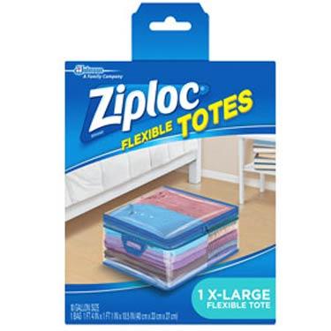 ZIPLOC FLEXIBLE TOTES