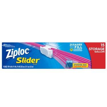 ZIPLOC EASY ZIPPER STORAGE GL
