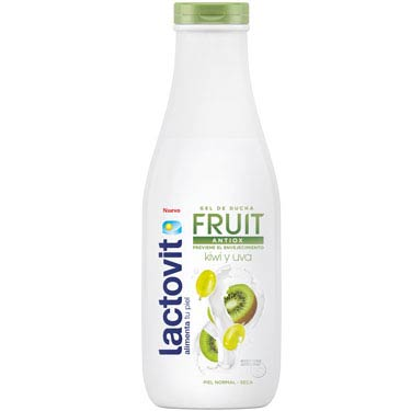 LACTOVIT  GEL/DUCHA FRUIT ANTIOX