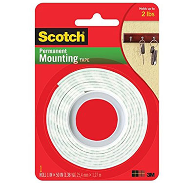 3M MOUNTING TAPE 1 X 50 INCH