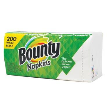 BOUNTY PAPER NAPKINS