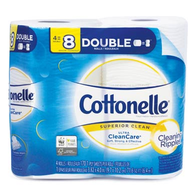 COTTONELLE CLEAN CARE DOBLE ROLL