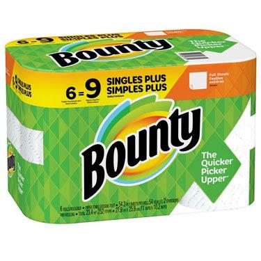 BOUNTY WHITE 54CT FULL SHEETS
