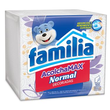 FAMILIA SERVILLETAS NORMAL DECORADAS