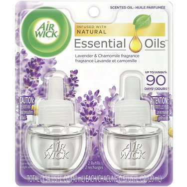 AIR WICK LAVENDER SCENTED OIL REFILLS